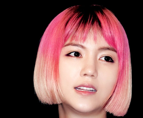 Pink-bob-hair Best Short Hair Colors
