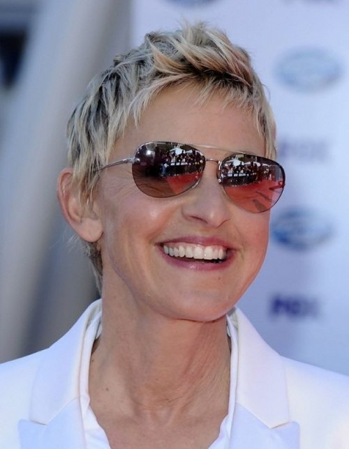 Pixie-Cut Hairstyles for Women Over 50 With Glasses
