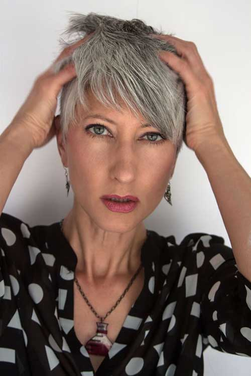 Pixie-Haircut-for-Women-Over-50 Gorgeous Short Hairstyles for Women Over 50