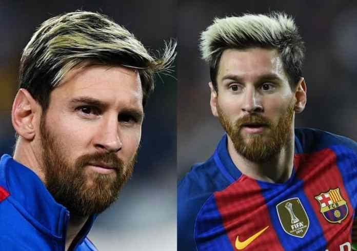 Red-Beard-with-Blond-Hairstyle Lionel Messi Beard Styles That Drive People Crazy