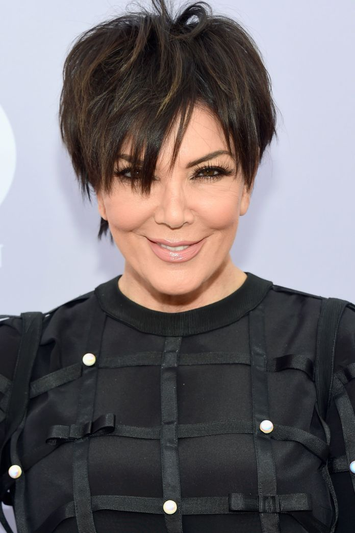 Rough-Crop-Fringe-Hairstyle Best Hairstyles for Older Women 2019