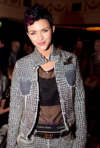 Ruby-Rose-2019-Short-Hairstyles-coloured-Fauxhawk Popular Hairstyles – Short Pixie, Bob and Long Layered Hairstyles