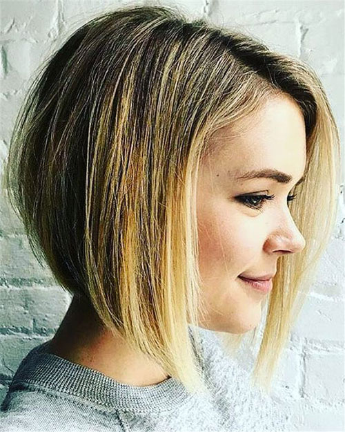 Short-Bob-Hair-Color-Idea Best Short Hair Color Ideas and Trends for Girls