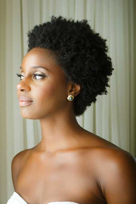 Short-Curly-Back-Brushed-Haircut Super Short Haircuts for Black Women