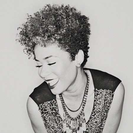 Short-Curly-Hairdo-with-Shorter-Sides Super Short Haircuts for Black Women