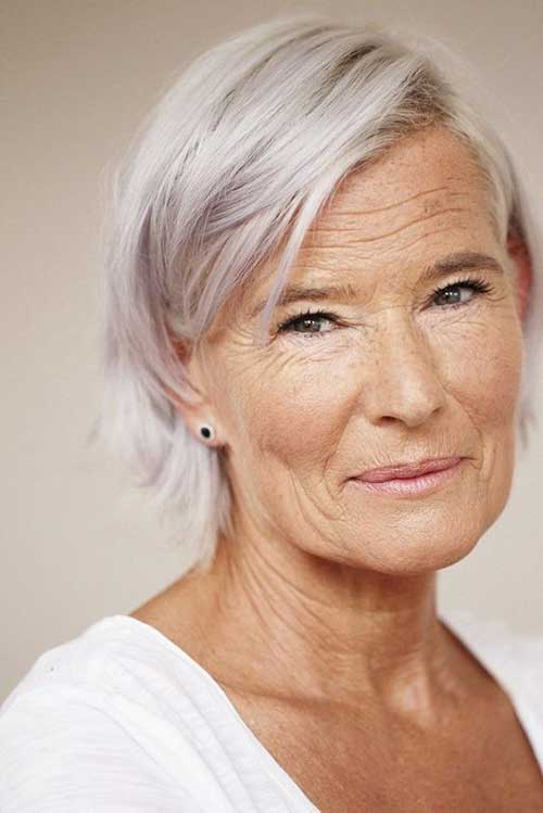 Short-Fine-Hair Gorgeous Short Hairstyles for Women Over 50