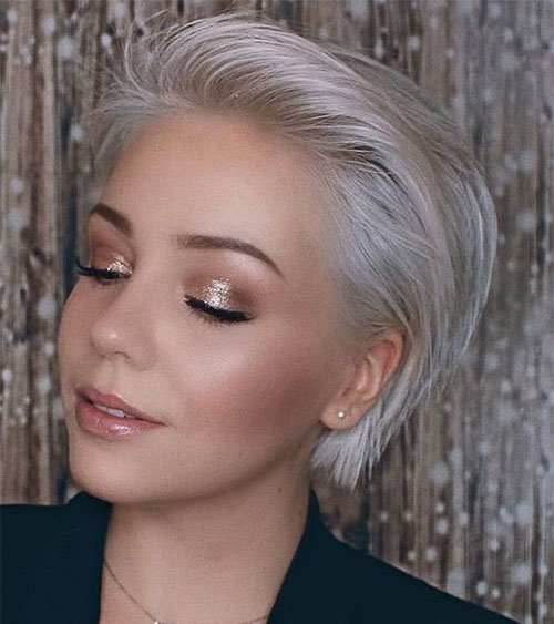 Short-Hair-Color-2019 Best Short Hair Color Ideas and Trends for Girls
