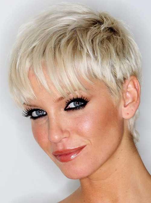 Short-Haircut-Women-Over-40 Short Hair Styles for Women Over 40