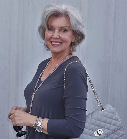 Short-Haircuts-for-Older-Women-with-Fine-Hair-3 New Short Haircuts for Older Women with Fine Hair