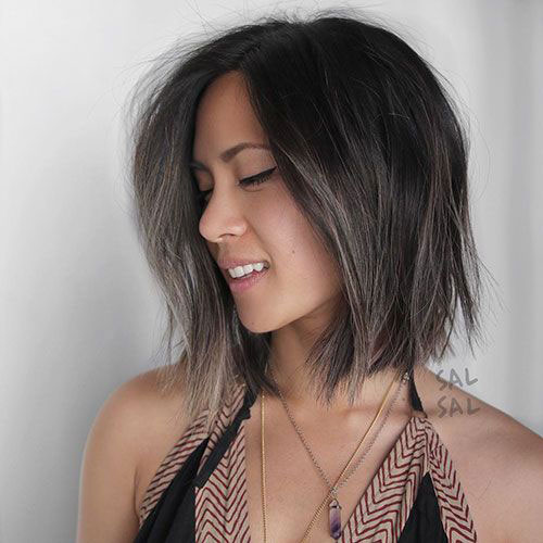 Short-Layered-Hairstyle Top Short Hairstyles for Fine Thin Hair