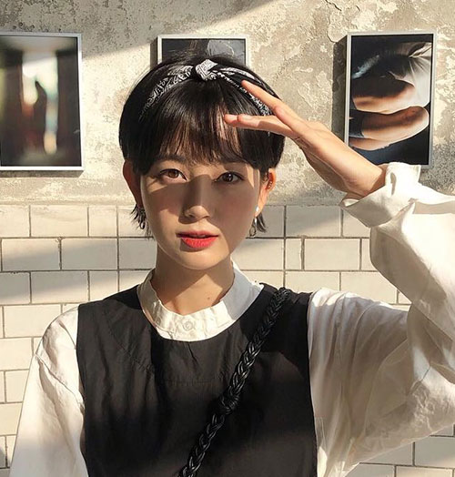 Short-Pixie-Bangs Cute and Chic Ways to Have Short Hair with Bangs