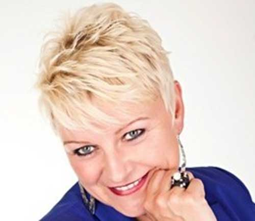 Short-Spiky-Pixie-Hair-for-Over-50 Best Short Hair Cuts For Over 50