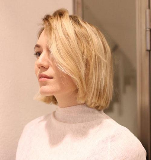 Simple-Haircut Latest Cute Hairstyles for Short Hair