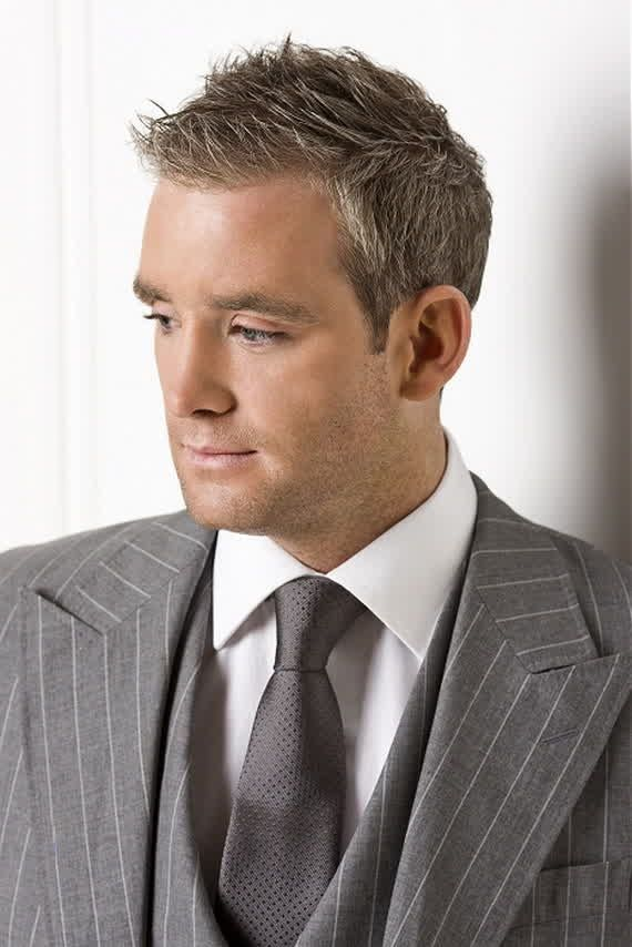 Spiked-Taper-Style Mens Hairstyles Over 40 for Dapper Look