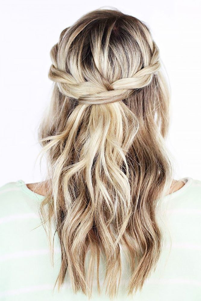 Steward-Braid-Hairstyle Classy and Charming Hairstyles for Wedding Guest