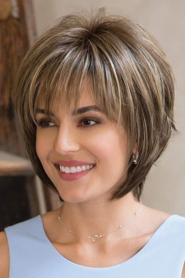 The-Dome-Cap-Short-Hairstyle Glorious Short Hairstyles for Chubby Faces