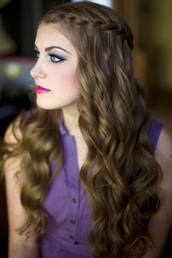 Waterfall-Braid-Hair Adorable Hairstyles for Long Hair