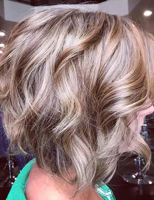 Ash-Blonde-Layered-Bob Lovely Styling Ideas For Layered Bob Hair