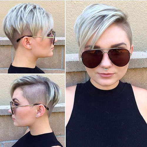 Best-Edgy-Pixie-Cut-for-Round-Faces-1 Short Pixie Cuts for Round Faces