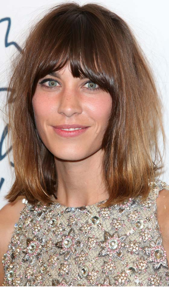 Bob-With-Soft-Bangs-In-Chocolate-Brown Trendy Highlighted Bob Hairstyles You Can Try Today