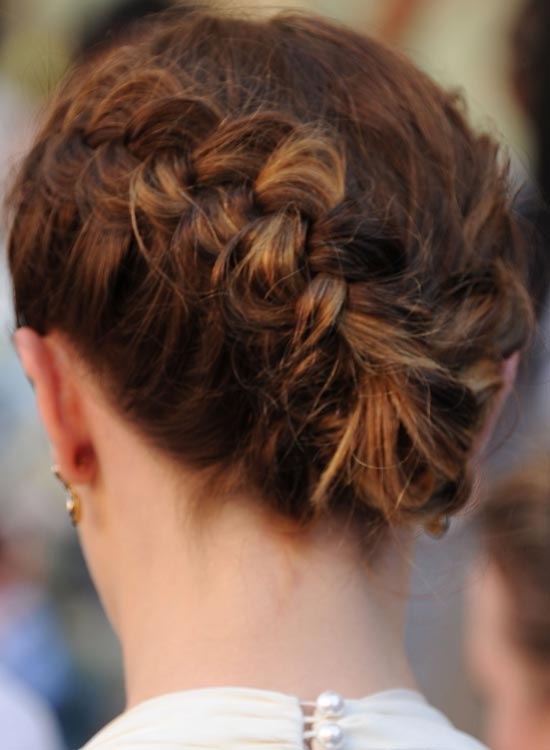 Braided-Bun Most Popular Coolest Teen Hairstyles For Girls
