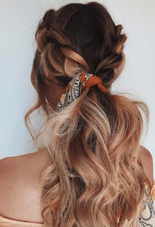 Chain-Link-Braid Most Adorable Long Hairstyles with Braids