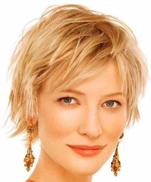 Curly-Pixie-Haircut-for-Over-40 Short Hair For Over 40