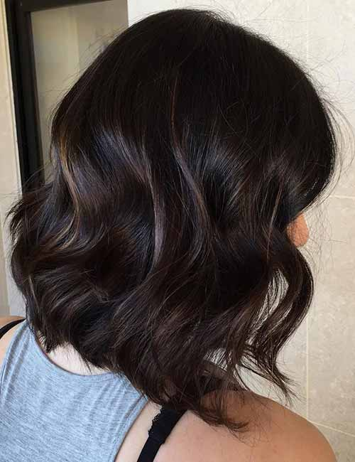 Dented-Curls-Layered-Bob Lovely Styling Ideas For Layered Bob Hair