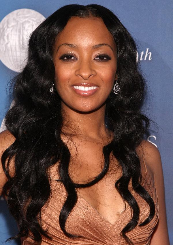 Extended-Ripples-Hairstyle Cute African American Hairstyles for Gorgeous Look