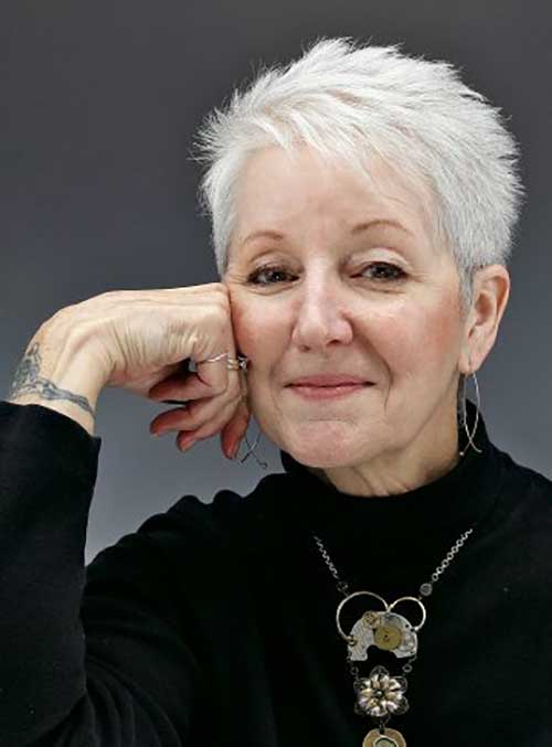 Fine-Short-Hair Ideas of Short Hairstyles for Women Over 50