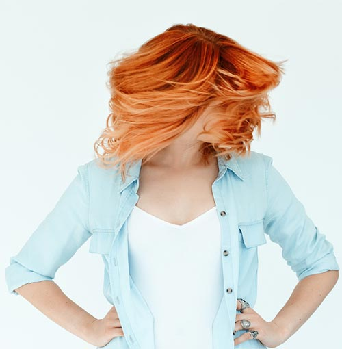 Ginger-Ombre Fabulous Hair Colors To Beat The Heat This Summer