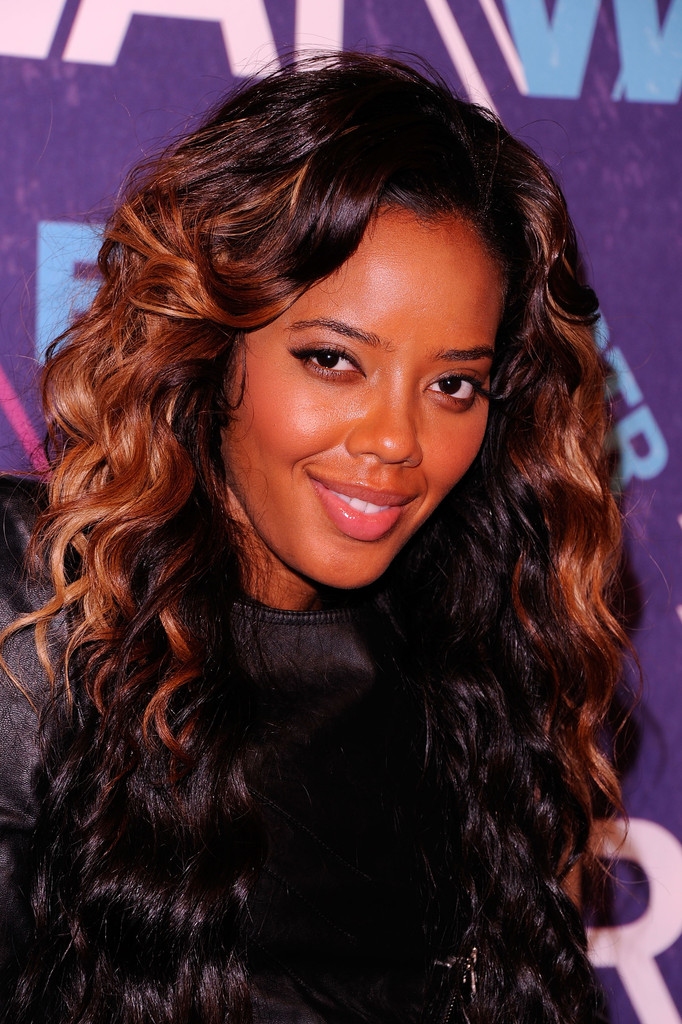 Highlighted-Bouncy-Curls Best African American Hairstyles with Color