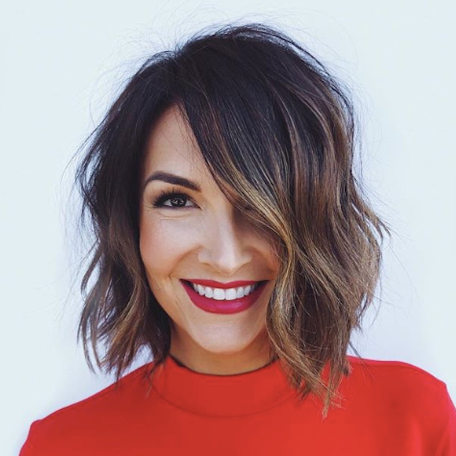 Jaw-Length-Messy-Bob Bob Haircuts 2019 for an Outstanding Appearance