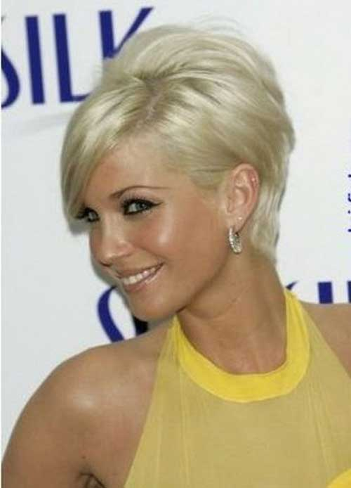 Layered-Blonde-Pixie-for-Women-Over-40 Short Hair For Over 40