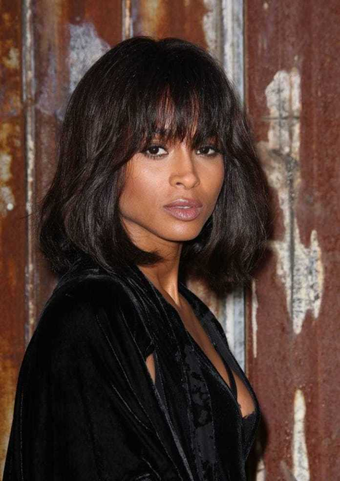 Layered-Shoulder-Bob-with-Extra-Long-Bangs Bob Haircuts 2019 for an Outstanding Appearance