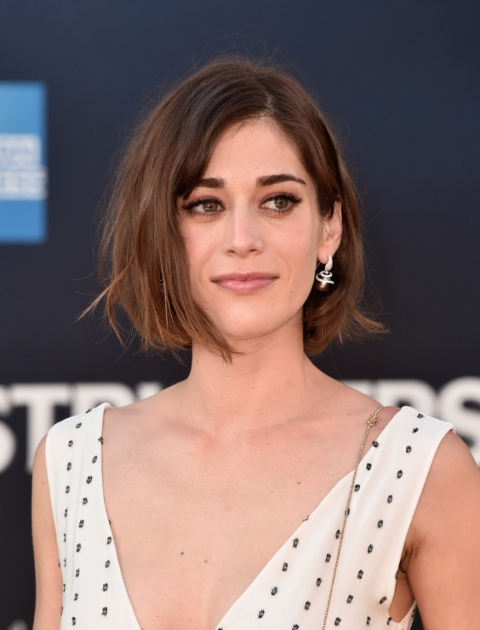 Lizzy-Caplan-Ash-Brown-Bob Trendy Celebrity Short Hairstyles You'll Want to Copy