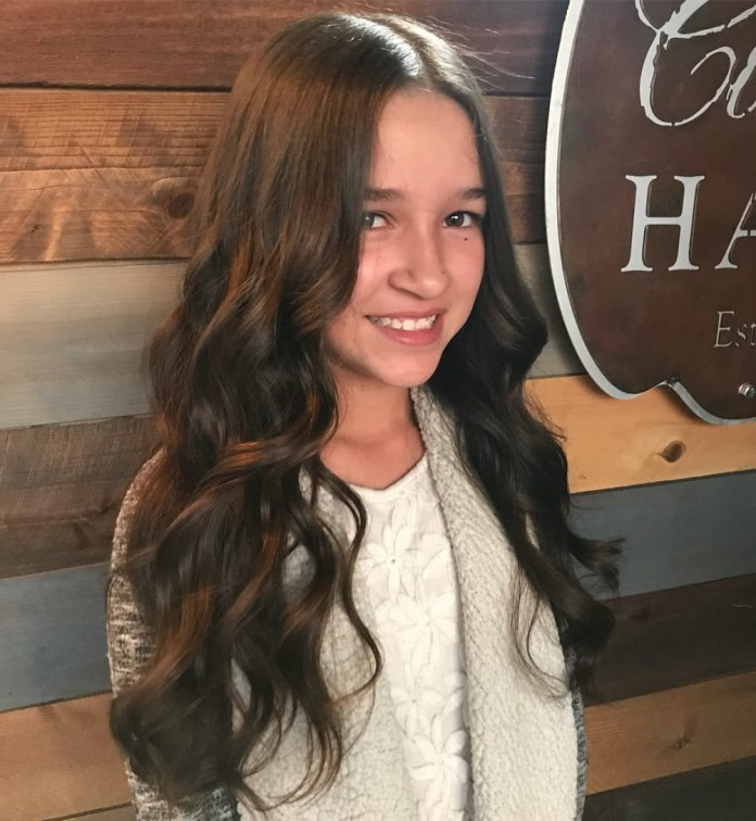 Long-Bohamian-Hairstyle Cute and Adorable Little Girl Haircuts