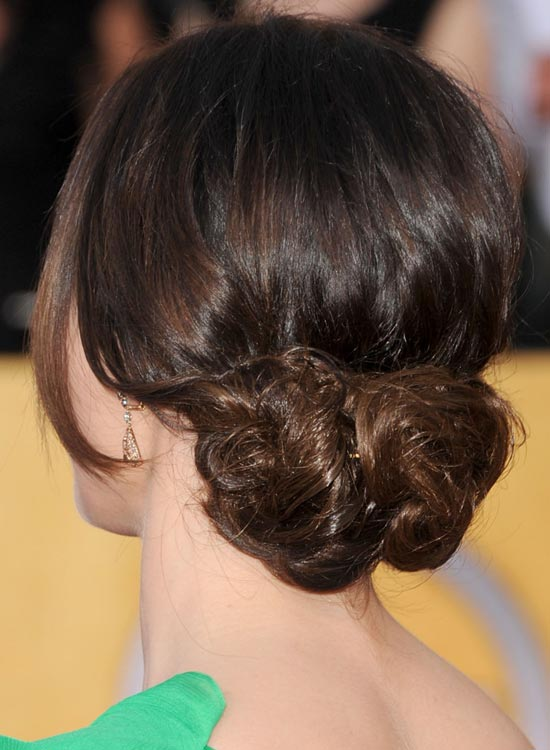 Loose-Chignon Most Popular Coolest Teen Hairstyles For Girls