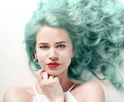 Mermaid-Green Fabulous Hair Colors To Beat The Heat This Summer