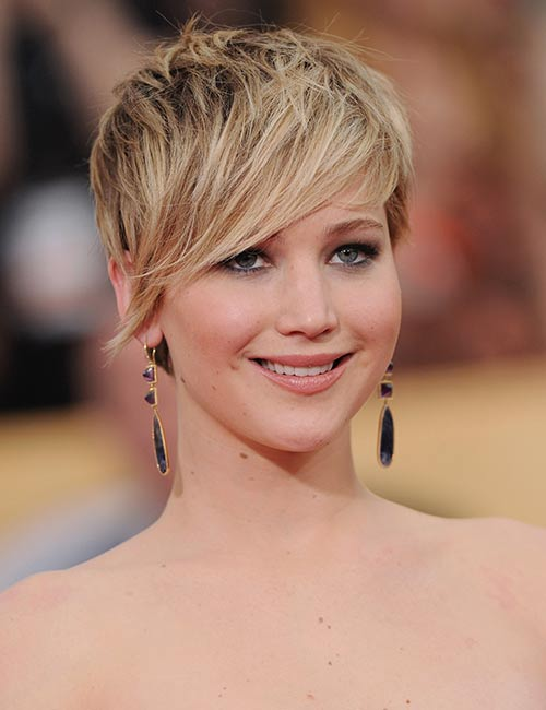 No-Parting-Pixie Celebs With Stunning Short Hairstyles
