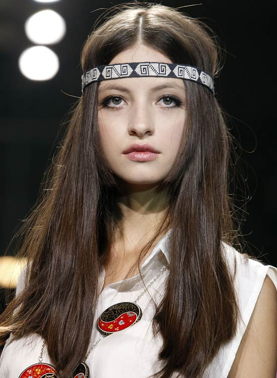 Patched-Headbands Best Hippie Hairstyles