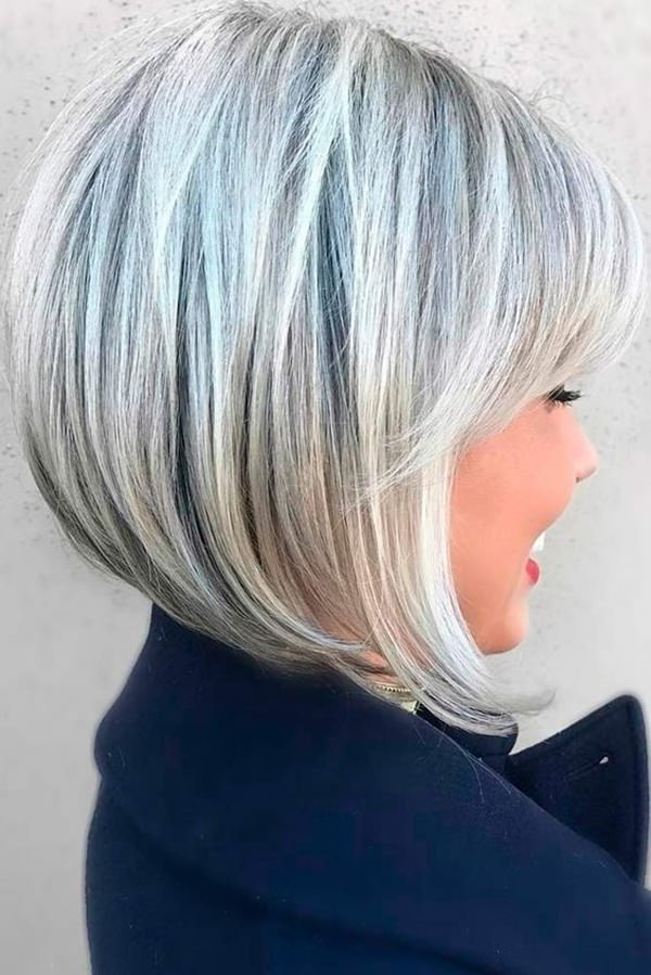 Perfectly-Ombre-Blonde-Choppy-Bob Bob Haircuts 2019 for an Outstanding Appearance