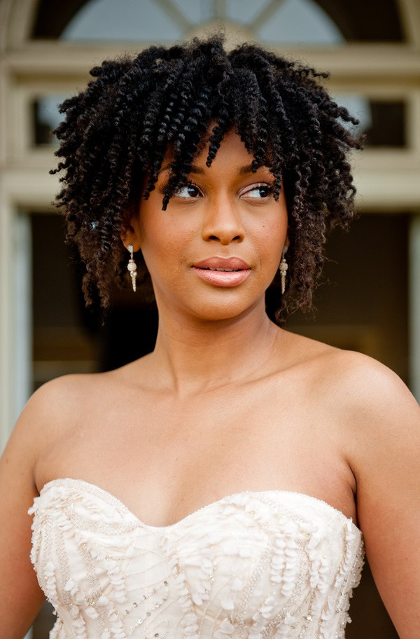 Rod-Natural-Hairstyle Most Beautiful Natural Hairstyles for Wedding