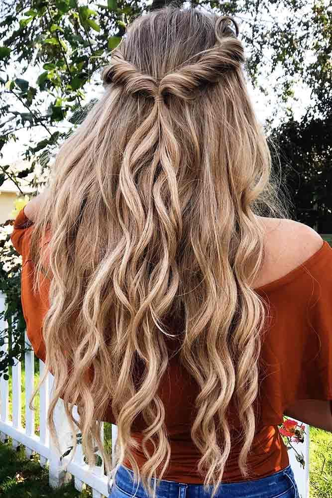 Rolling-Twists-Hairstyle Spring Hairstyles to Outshine Your Beauty