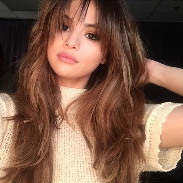 Rounded-Edges-And-Bangs Layered Hairstyles With Bangs