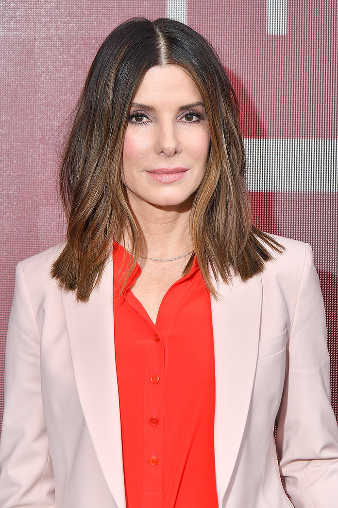 Sandra-Bullock-Haircut Spring Hairstyles to Outshine Your Beauty