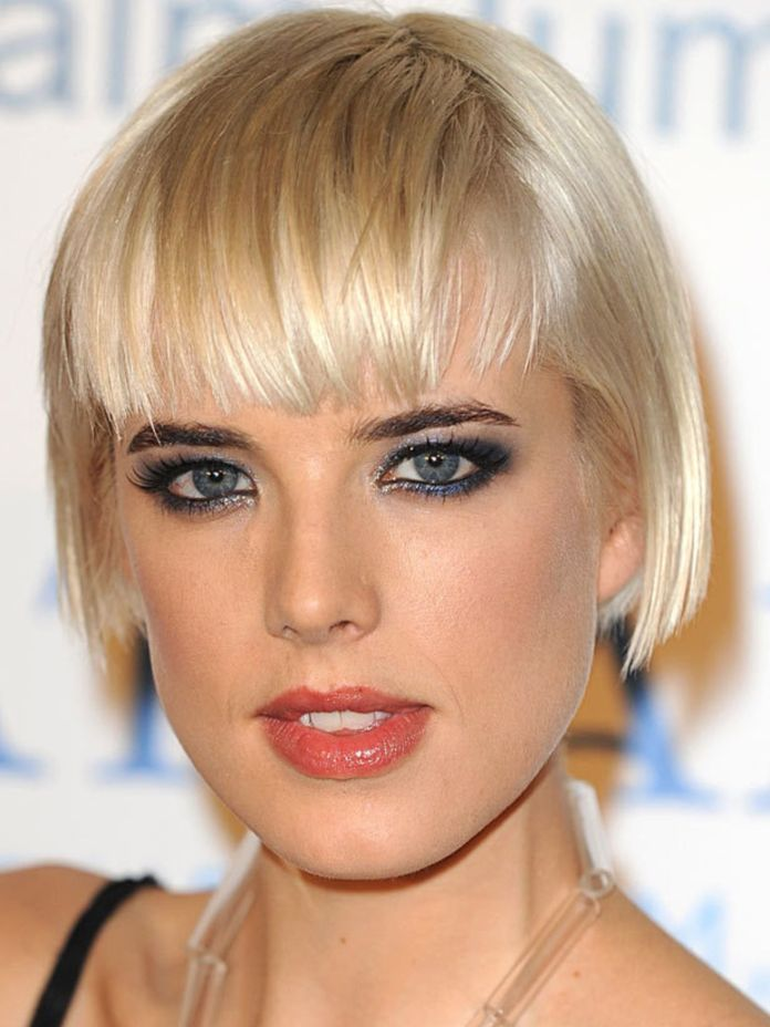 Short-Crop-with-a-Bangs Bob Haircuts 2019 for an Outstanding Appearance