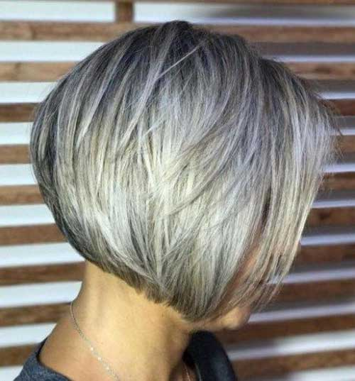 Short-Hairstyle-for-Fine-Hair-Over-40 Best Short Haircuts for Over 40