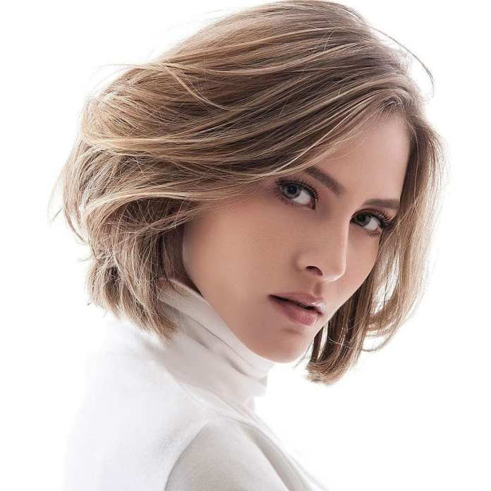 Smooth-Layered-Bob Bob Haircuts 2019 for an Outstanding Appearance