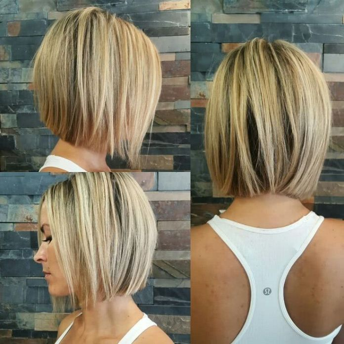 Smooth-Straight-Bob Bob Haircuts 2019 for an Outstanding Appearance